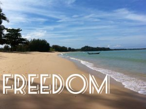 freedom beach by jeff james