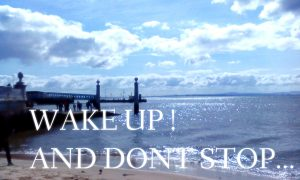 WAKE UP ! AND DON'T STOP...