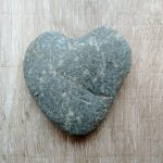 heart stone by Louise