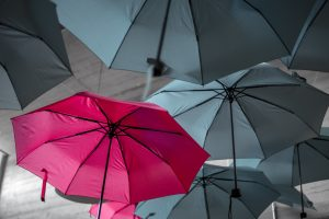 Vibrate top the beat of your own umbrella