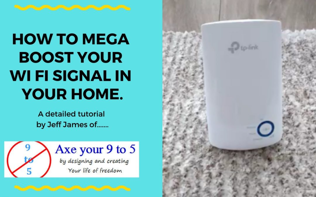 This video is part of the 'Making your office in the garden or outside office series'.  In this video I am showing you….How to mega boost your Wi Fi signal in your home.