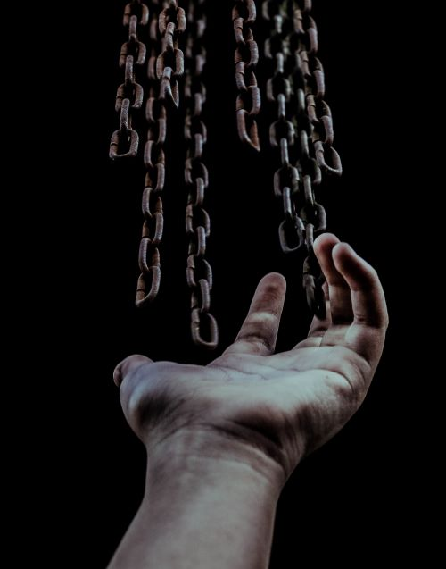 Let go of the chains.