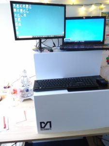 The standing desk, get one today