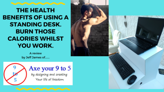A video blog…The health benefits of using a standing desk, burn those calories whilst you work.