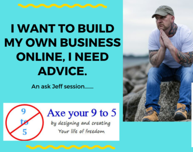 I WANT TO BUILD MY OWN BUSINESS ONLINE, I NEED ADVICE